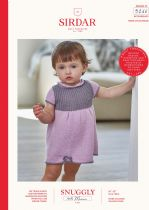 Sirdar Snuggly 100% Merino 4 ply Knitting Pattern Booklet - 5266 Dress & Bootees